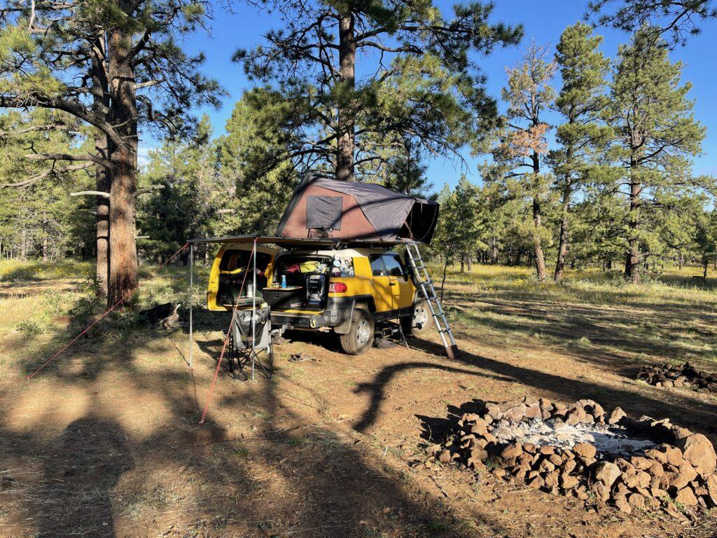 Camping mongolion rim