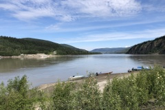 Yukon River at Dawson City