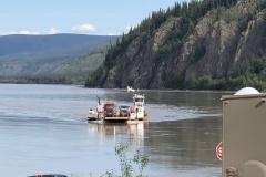 Yukon River ferry