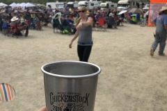 View from a beer cup