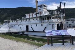 Steamboat in Dawson City