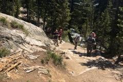 Trail to Hidden Falls