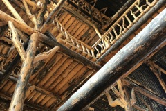 Amazing Log Structure at the Lodge at Old Faithful