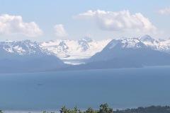 Glacier across Cook inlet