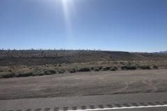Desolate drive to Reno