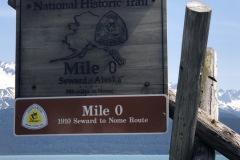 Mile 0 on the Iditarod
