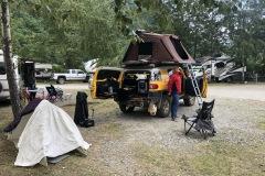 Municipal Campground in Skagway