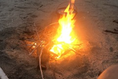 Our only fire so far