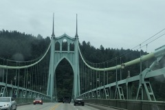 One of the many bridges in Portland